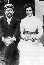 150px-Anton_Chekhov_and_Olga_Knipper,_1901