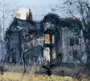 The_Old_Hall,_Fairies_by_Moonlight