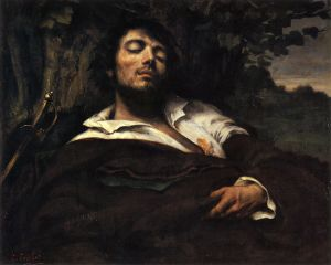 748px-Portrait_of_the_Artist_called_The_Wounded_Man_(L'homme_blessé)_by_Gustave_Courbet