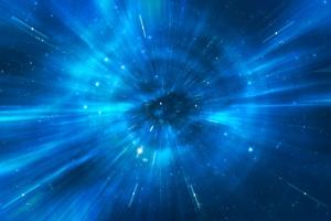 Space warp travel trough universe